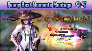 Fanny Best Moments Montage 95 | Fanny Savage & Maniac Moments - Mobile Legends