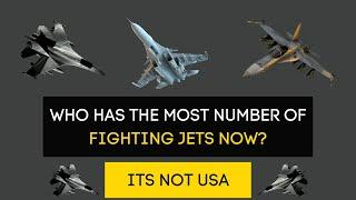 Top 10 Countries with the Highest number of Fighter Jets 2020 || Fighter Aircraft Power