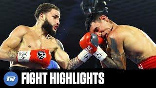 Josue Vargas makes easy work of Salvador Briceno | FULL FIGHT HIGHLIGHTS