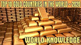 Top 10 gold country in the world 2020 || World Gold Council |top countries with largest gold reserve