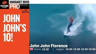 Believe It Or Not That's John John's First 10 At Margs HEAT REPLAY - Boost Mobile Margaret River Pro