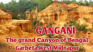 Gangani - The Grand Canyon of Bengal, Garbeta, West Midnapur, West Bengal.