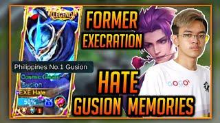 FORMER TOP 1 PHILIPPINES GUSION EXE.HATE | GUSION FAST HAND MOMENTS BY HATE | MLBB