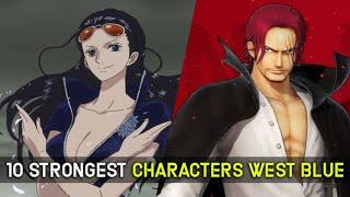 Top 10 Strongest Characters from West Blue in One Piece, Ranked