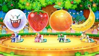 Mario Party 10 MiniGames - Mario Vs Luigi Vs Waluigi Vs Wario (Master Difficulty)