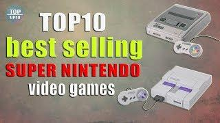 Top10 of best-selling Super Nintendo Entertainment System video games
