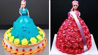 Amazing Barbie Cake Decorating Tutorials | Most Satisfying Doll Cake Decorating Ideas | So Yummy