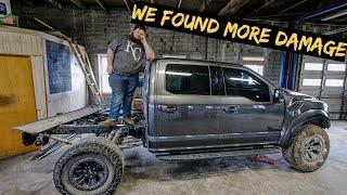 WELL...We Found BIG Problems with Wrecked Ford Raptor