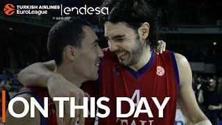 On this Day, April 5, 2005: Luis Scola breaks EuroLeague record