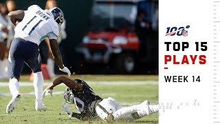 Top 15 Plays from Week 14 | NFL 2019 Highlights
