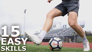 15 Easy Skills To Master The Ball | Fifteen Dynamic Ball Mastery Exercises To Improve Ball Control