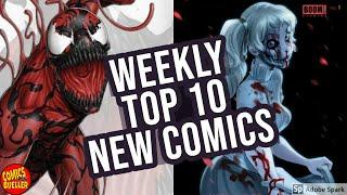 TOP 10 NEW KEY COMICS TO BUY FOR NOVEMBER 20TH - WEEKLY PICKS FOR NEW COMIC BOOKS  MARVEL / DC