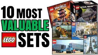 THE 10 MOST VALUABLE LEGO SETS! (1949-2020)