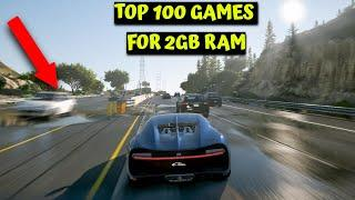 Top 100 Low End/ Spec PC Games For 2GB RAM (256MB -512MB VRAM)