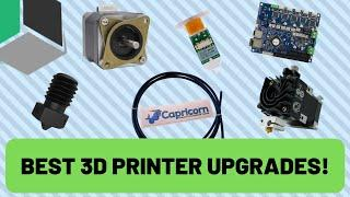 The BEST UPGRADES for your 3D Printer!