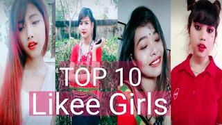 Top 10 Tripura Likee Girls 2020 || New Kokborok Likee Star