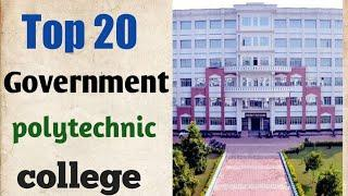 Up polytechnic Top 10 government college, & top 20 government Polytechnic college ranking in 2020.