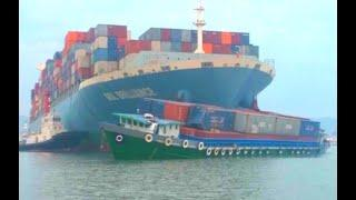 Top 10 Large Container Ships Crashes! Abandoned Military Ships