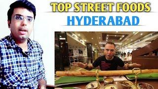 Indian Reactions of Top 10 Street Food of Hyderabad | Indian Street Food | Mature Reactions
