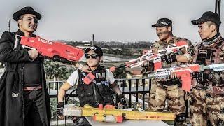 LTT Nerf War : Special Police SEAL X Warriors Nerf Guns Fight Dr.Lee Crazy Evil Pretender