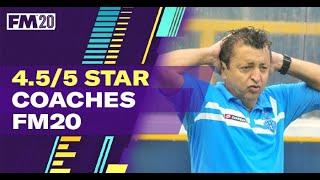FM20 Coaches - Football Manager 2020 staff to achieve 5 star coaching