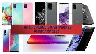 Top Upcoming Smartphones - February 2020