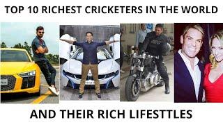 TOP 10 RICHEST CRICKETER IN THE WORLD - NET WORTH OF RICHEST CRICKETER - FAMOUS CRICKET PLAYERS 2020