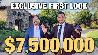 $7.5 MILLION EXCLU$IVE FIRST LOOK | JOSH ALTMAN | REAL ESTATE | EPISODE #37
