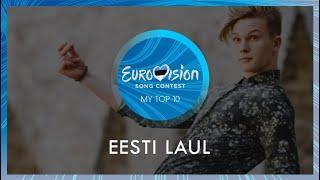 ESC 2020 - Eesti Laul - Top 10 (Estonia in the Eurovision Song Contest 2020)