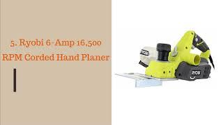 Top 10 Best Electric Hand Planers Reviews