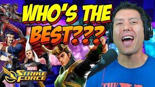 Top 10 FTP Characters for February 2020 in Marvel Strike Force