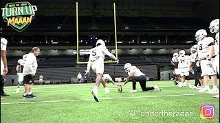 WEST Team Offense v Defense Hilarious Field Goal Contest   All American Bowl 2020  #UTR Highlights
