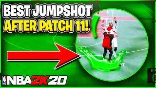 NBA 2k20 BEST Jumpshot After Patch 11! | HIGHEST GREEN PERCENTAGE JUMPSHOT AFTER PATCH 1.11