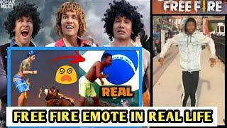 TOP 10 EMOTE IN REAL LIFE OF FREE FIRE | FREE FIRE EMOTE IN REAL LIFE | SOURCE OF EMOTE OF FREE FIRE