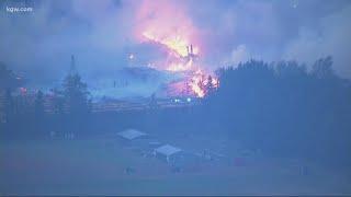 Wildfires burning across Oregon: Top stories Sept. 8, 2020