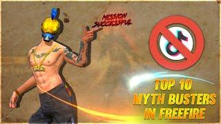 Top 10 Myth Buster Tamil || Slumber Queen || Free Fire Tricks Tamil