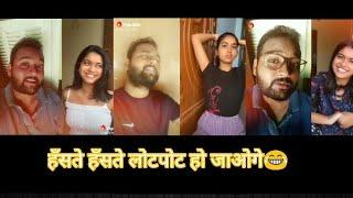 Top Comedy Video   Try To Not Laugh   Short Funny Video   Saloni singh ft. Ankit Babu   Part 3