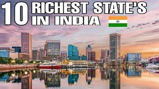Top 10 Richest State's in India || 2020 - 2021 || Debdut YouTube