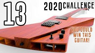 A look at the UNIQUE 2020 Guitar Build Challenge - the Penultimate Video...