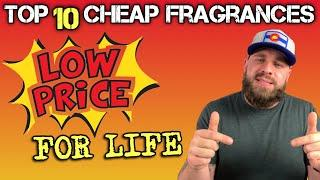 TOP 10 CHEAP FRAGRANCES FOR LIFE | TOSS OUT THE REST | TAG VIDEO | GREAT MEN'S FRAGRANCES UNDER $40