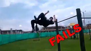 Best Street Workout And Calisthenics FAILS Compilation