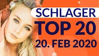 SCHLAGER CHARTS 2020 - Die TOP 20 vom 20. Februar