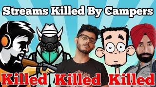 Top 5 God Level Campers VS Famous Indian Streams | Mortal, Dynamo Gaming, Carryislive, Scout
