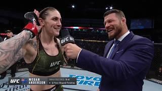 UFC Norfolk: Megan Anderson Octagon Interview