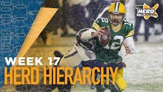 Herd Hierarchy: Colin Cowherd's Top 10 NFL teams heading into Week 17 | NFL | THE HERD