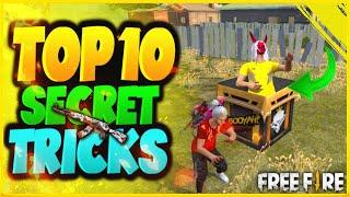 Top 10 New Secret Tricks In Free Fire | New Bug & Glitches In Garena Free Fire #108