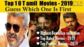Top 10 Tamil Movies 2019 | Highest Box Office Collection | Top Rated Movies | Top Popular Movie List