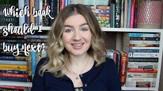 The 10 Books Top of My Wishlist | Help Me Choose!