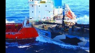 Top 10 Big Ships Collision! Crashing Ships at Large Waves In Storm