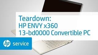 Service Teardown: HP ENVY x360 13-bd0000 Convertible PC | HP Computer Service | HP